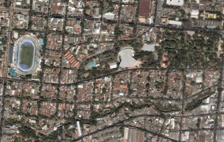 サンサルバドル by Google Earth