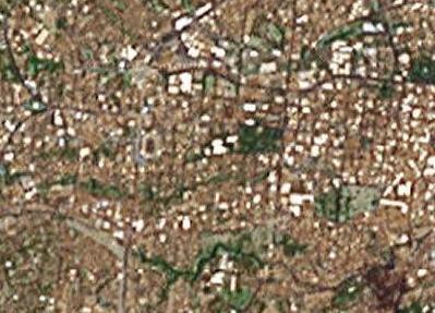サンサルバドル by Google Satellite