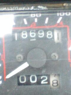 118698.1kmの記憶